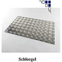 1,5/2 Aluminium-Riffelblech Länge 750/1000/1500mm Warzenblech