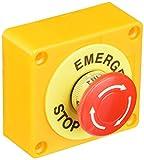 SOURCING MAP Red Sesión Setas Parada de Emergencia de Botón Interruptor Estación 1 NA 1 NC es