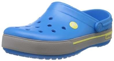 Crocs Cband2.5Clog, Unisex-Erwachsene Clogs, Blau (Ocean/Citrus 4C5), 42/43 EU (M9/W11 US)