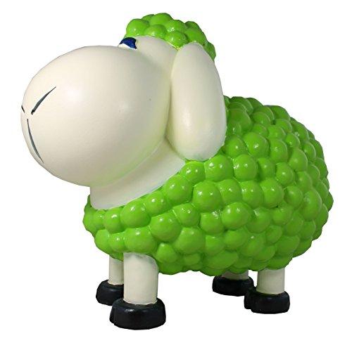 Figurine de mouton schn auzi Vert Décoration colorées non seulement pour le jardin