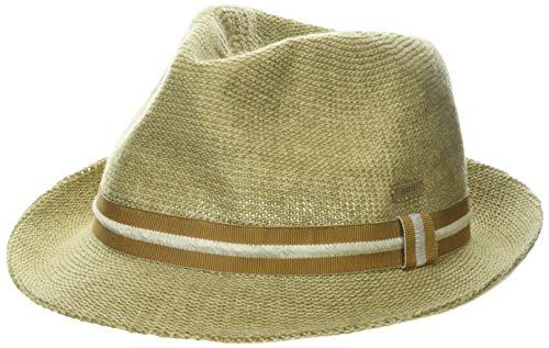 Barts Unisex Woltz Hat Panamahut Beige (Natural 7) Large (Herstellergröße: M/L)