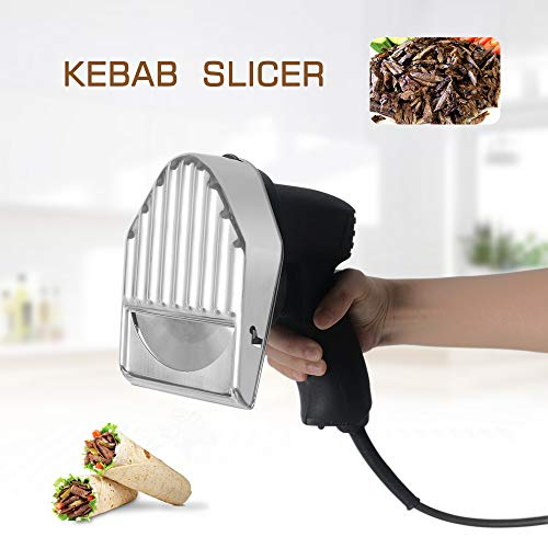413S8BvBjSL. SS500  - Professional and Commercial Electric Shawarma Cutting, Gyro Cutter,CE Doner Kebab Slicer 240V/50hz UK Plug