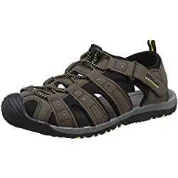 Gola Shingle 3, Sandalias Atléticas, Hombre, Marrón (Dark Brown/black/sun), 44 EU