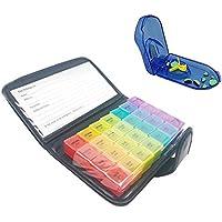 Case von Saiko Weekly Pille Veranstalter Box 7Tage 4mal Pillen Spender CONTAINER Medikamenten Tabletten Wallet... preisvergleich bei billige-tabletten.eu