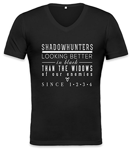 The Mortal Instruments Shadowhunters Unisex V-neck T-shirt Small
