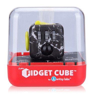 Zuru – Fidget Cube – Original – Serie 2 – Schwarz – Anti-Stress Spielzeug