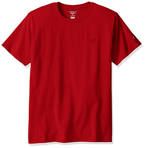Jersey Tee (Champion Men's Classic Jersey Tee M Red)