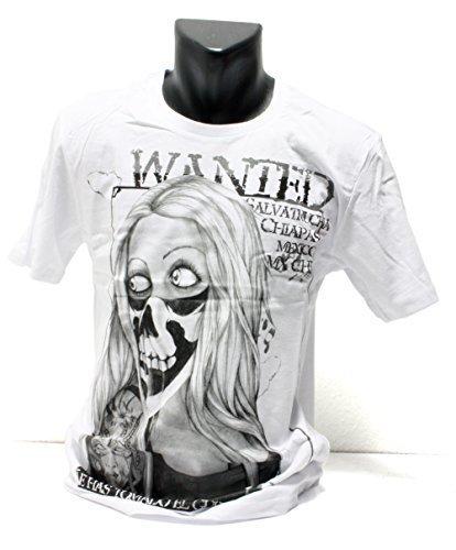 Shirt Maria Salvatrucha Mafia Bandana Mexiko Ganster Dub (L) ()