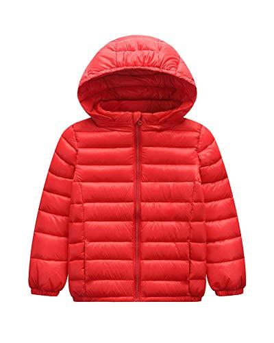 Suncaya piumino bambino giacche di piuma leggero giubbotti inverno cappotti con cappuccio per ragazzi ragazze
