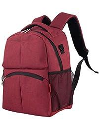 Fenebort Double-Shoulder Fashion Oxford multifunzione pannolini per neonati  Zaino Mummia Borse Durable Laptop Zaini 7923e0af426