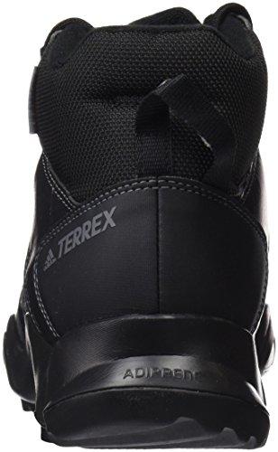 Scarponcini Da Trekking Adidas Per Uomo Terrex Ax2r Beta Mid Cw Neri