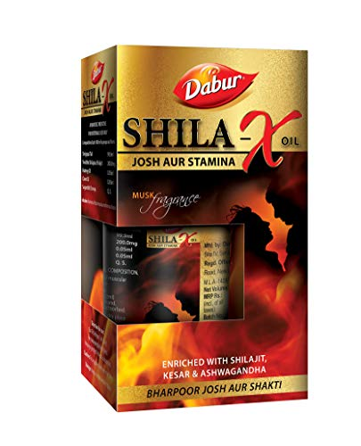 Dabur Shilajit X Oil - 20 ml (Musk Fragrance)