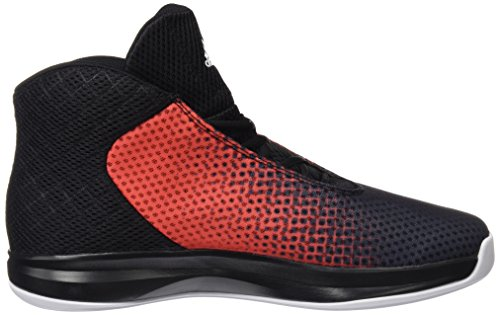 adidas Court Fury 2016, Chaussures de Sport-Basketball Homme Noir - Negro (Negbas / Rojray / Ftwbla)