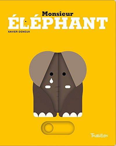 Monsieur Éléphant (Blanc Noir) por Xavier Deneux