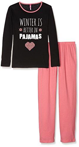 Lina Pink Ef.Wool.Py.Mz, Ensemble de Pyjama Fille Lina Pink