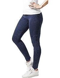 Urban Classics Leggings Denim Jersey-leggings deportivos Mujer