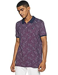 Indigo Nation Men's Printed Slim Fit T-Shirt