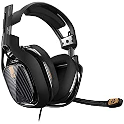 ASTRO Gaming A40 TR Casque PC filaire compatible Mac, PlayStation 4, Xbox One - Noir
