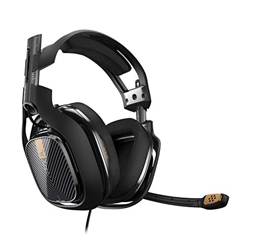 ASTRO Gaming A40 TR (3. Generation) PC-Headset (kabelgebunden) (auch kompatibel mit Mac, PlayStation 4, Xbox One) schwarz -
