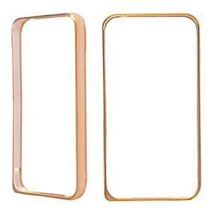Mercury View Bumper Case(Golden) For Lenovo P1m