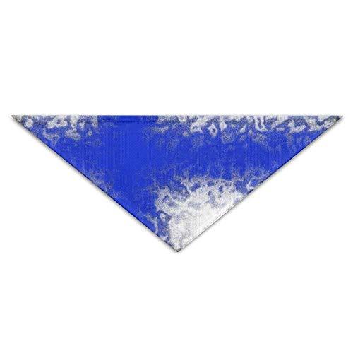 Wfispiy Art Retro Flag of Finland Dog Bandanas Scarves Triangle Bibs Scarfs Lovely Basic Neckerchief Cat Collars Pet ()