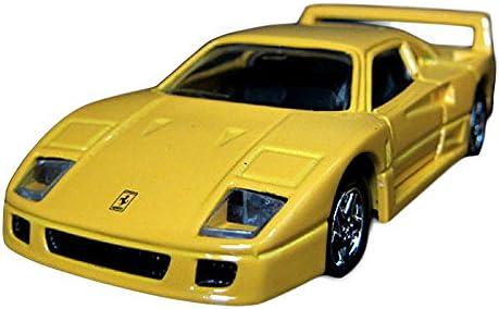 [Maisuto] MAISTO MAISTO MAISTO FERRARI Ferrari F4.0 1./3.6. chelle DIE CAST CORPS METAL MODEL KID jaune (1,0)   Réduction  d0e00d