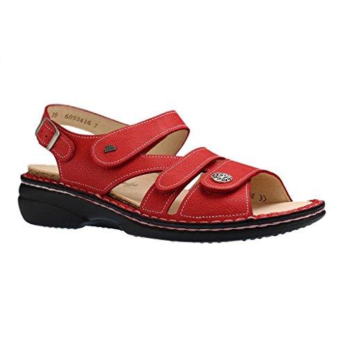 Finn Comfort Gomera, Sandali donna Rosso Indianred Longbeach 16 rosso