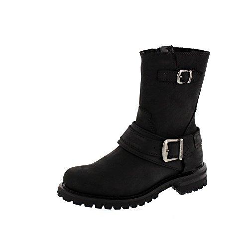 Harley Davidson Schuhe - Boot Scarlet - Black, Größe:37 (Harley Damen Stiefel)
