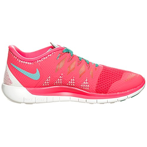 Nike - Wmns Nike Free 5.0, Scarpe Da Corsa da donna (Rosa (HYPER PUNCH/HYPR JD-BRGHT MNG))