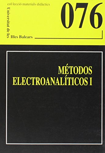 Métodos electroanalíticos I (Materials didàctics)