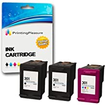3 XL Compatibili HP 301XL Cartucce d'inchiostro
