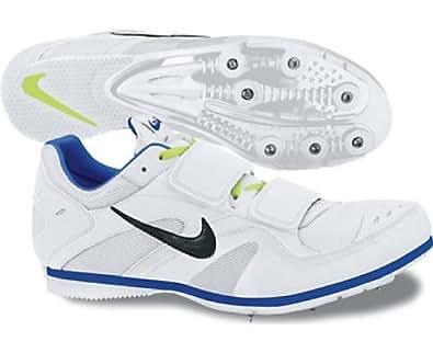 timeless design a653e 91e73 Nike Zoom TJ3 Triple Jump Spikes White: Amazon.co.uk: Shoes & Bags