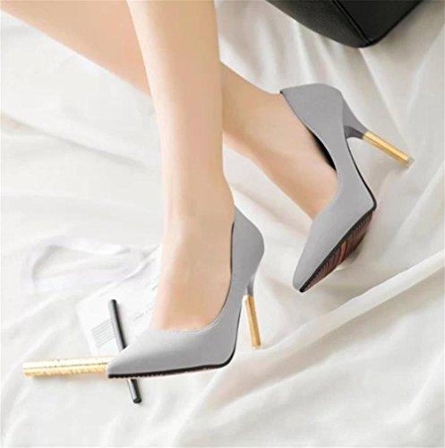 pengweiAdatti i tacchi alti bene con le scarpe a punta di scarpa antiscivolo poco profonde 2