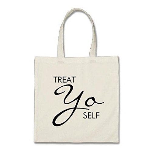 Gönnen Sie sich Gönnen Sie sich Budget Baumwolle Canvas Tote Bag (Tote Canvas Reversible)