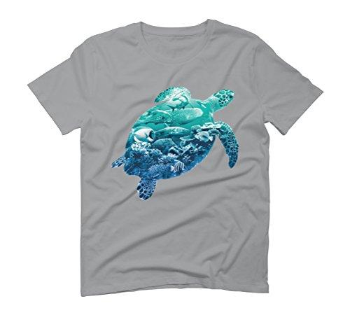 Ocean Life Men's Graphic T-Shirt - Design By Humans Opal
