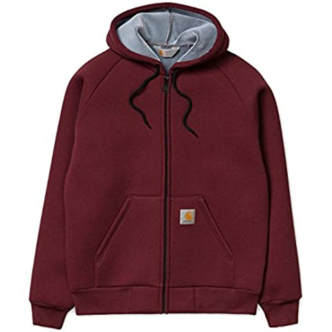 CARHARTT GIACCA CAR LUX HOODED JACKET BORDEAUX