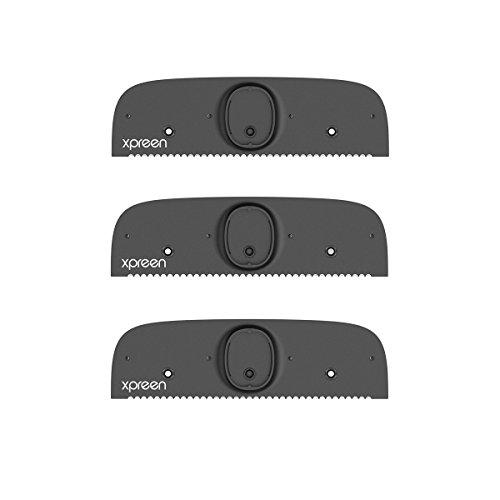 Rückenrasierer Rasierklingen, Xpreen verstellbare Rasiermesser Rasierklingen, 1er Pack (3 Stück)