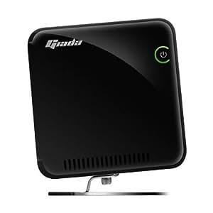 Giada Giada Slim i30-B2234 Ordinateur de bureau Intel Atom D525 320 Go 2048 Mo Windows 7 Noir