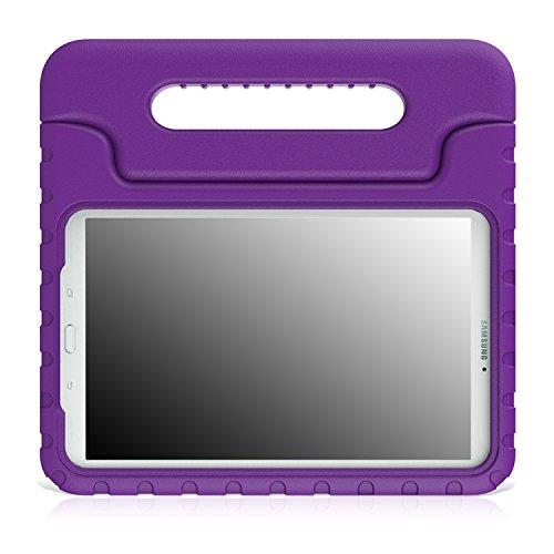 MoKo Case für Samsung Galaxy Tab E 9.6 Hülle, Superleicht EVA Stoßfest Kinderfreundlich Kinder Schutzhülle mit umwandelbarer Handgriff Handle & Standfunktion für Galaxy Tab E 9.6