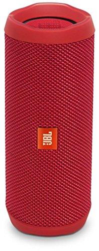 JBL FLIP 4 (Ein voll ausgestatteter, wasserdichter und mobiler Bluetooth-Lautsprecher mit überraschend kraftvollem Sound) rot