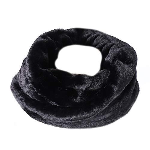 Asudaro sciarpa invernale da donna elegante sciarpa a tubo termico in pelliccia sintetica scaldacollo ad anello sciarpa infinita