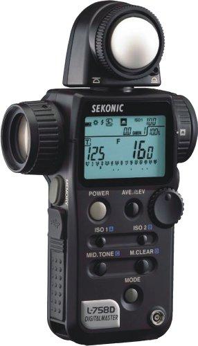 Sekonic L-758 D - Digitalmaster, Esposimetro digitale per flash e luce continua