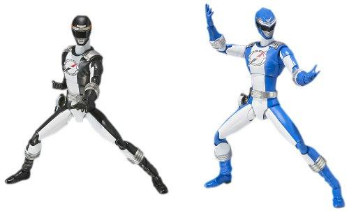Gogo Sentai Boukenger Bokenja SHFiguarts Black & Blue Boukenger gesetzt (Japan-Import) (Power Rangers, Sentai)