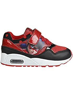 Ladybug , Mädchen Sneaker rot rot
