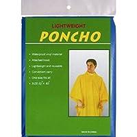 Poncho Grande Impermeable 52x80cm 4 Colores Surtido A Elegir 1