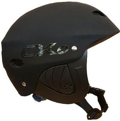 Concept X Kite + Surf Casco CX Pro Casco de deportes de agua White/negro/Carbon (negro, XS)