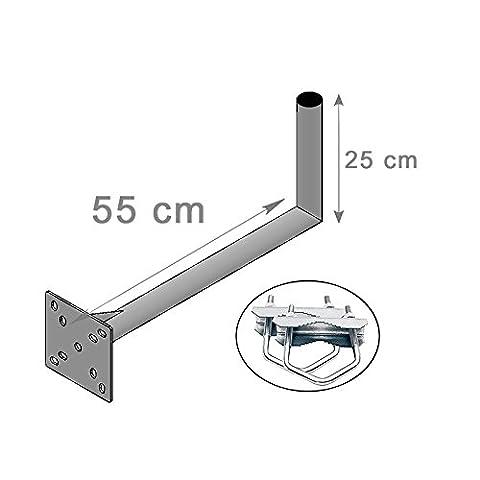 Support Mat Antenne - FIXATION mat BALCON et MURALE ANTENNE ET