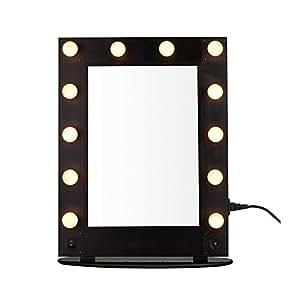 Yroar specchio per il trucco con luci di cortesia bellezza illuminato specchio spogliatoio - Specchio per trucco illuminato ...