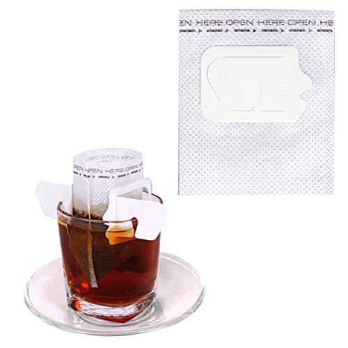 Erjialiu 50 Teil/Satz Filterkaffee Filterbeutel Tragbare Hängende Ohr Stil Kaffee Filter Papier Home Office Reise Brauen Kaffee,Stil 3 - Kaffee-filter-reisen