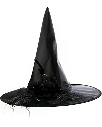 Halloween Kostüme Agnes (Schwarzer Hexenhut Agnes mit)